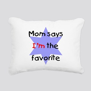 momsaysblue Rectangular Canvas Pillow