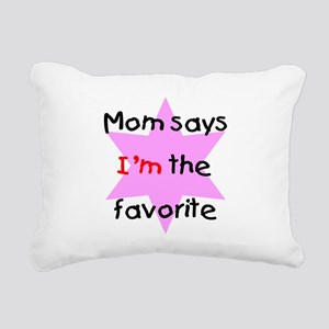 momsayspink Rectangular Canvas Pillow
