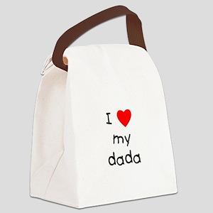 lovemydada Canvas Lunch Bag
