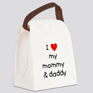 lovemymommyanddaddy Canvas Lunch Bag