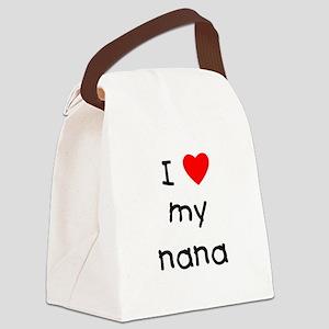 lovemynana.png Canvas Lunch Bag