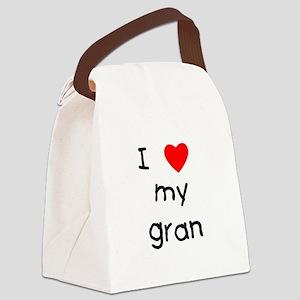 lovemygran Canvas Lunch Bag