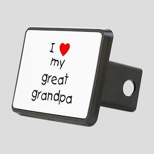 I love my great grandpa Rectangular Hitch Cover
