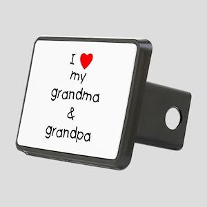 I Love My Grandma & Grand Rectangular Hitch Co