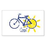Coast Sticker (Rectangle 50 pk)