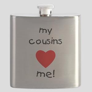 My cousins love me Flask