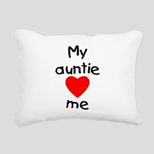 lovesme-auntie Rectangular Canvas Pillow