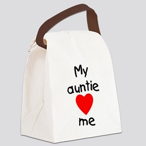 lovesme-auntie Canvas Lunch Bag