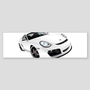 Sports Car Sticker (Bumper)
