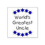 greatestunclenavy Square Sticker 3