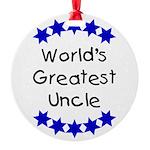 greatestunclenavy Round Ornament