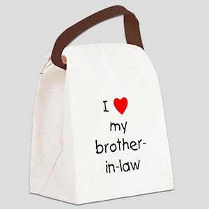lovemybroinlaw Canvas Lunch Bag