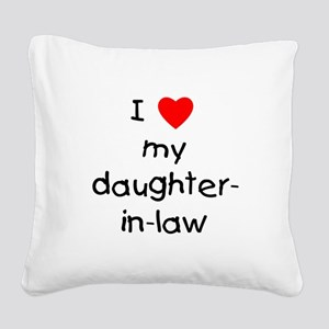 lovemydil Square Canvas Pillow