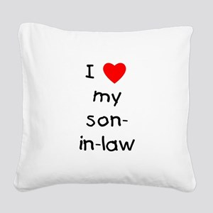 lovemysil Square Canvas Pillow
