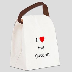 lovemygodson Canvas Lunch Bag