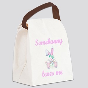 somebunnymegirl Canvas Lunch Bag