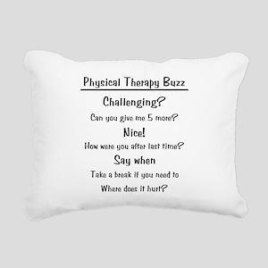 ptbuzz-black Rectangular Canvas Pillow