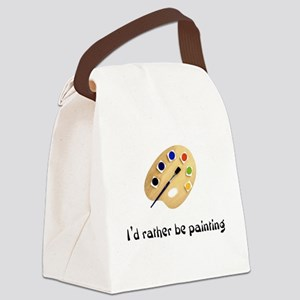 ratherbepainting Canvas Lunch Bag