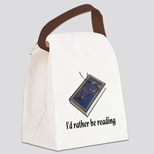 ratherbereading Canvas Lunch Bag