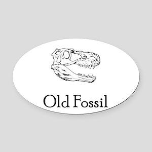 oldfossil Oval Car Magnet
