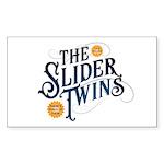 Slider Twins Sticker (Rectangle 10 pk)