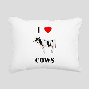 lovecows Rectangular Canvas Pillow