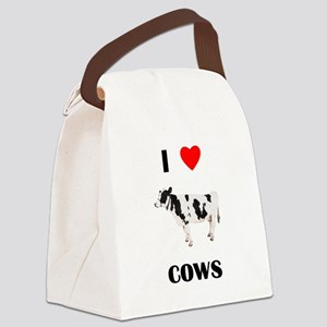 lovecows Canvas Lunch Bag