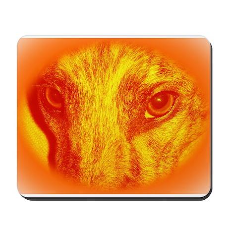 Orange Zoe Mousepad