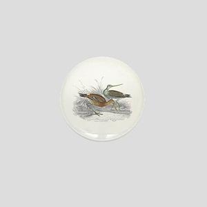 Black Tailed Godwit Mini Button