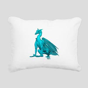 tealzdragon1-t Rectangular Canvas Pillow
