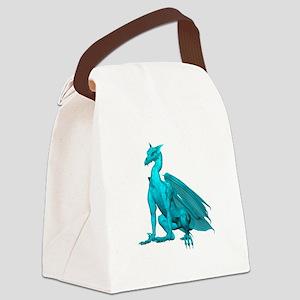 tealzdragon1-t Canvas Lunch Bag