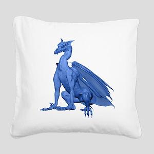 lightblzdragon-t Square Canvas Pillow