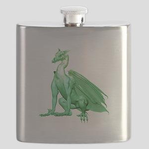 lightgreenzdragon1-t Flask