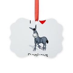 lovedonkeys2 Ornament