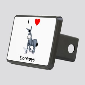 lovedonkeys2 Rectangular Hitch Cover