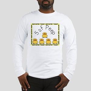 5 of peep RT 2012 Long Sleeve T-Shirt