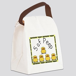 5 of peep RT 2012 Canvas Lunch Bag