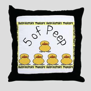 5 of peep RT 2012 Throw Pillow