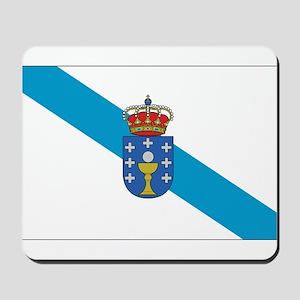 Galicia Flag Mousepad