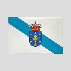 Galicia Flag Rectangle Magnet