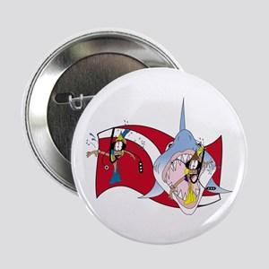 Shark and Divers Button