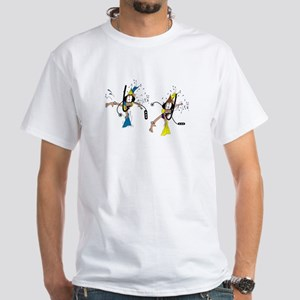 Shark and Divers White T-Shirt