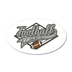 Football Respect Wall Decal