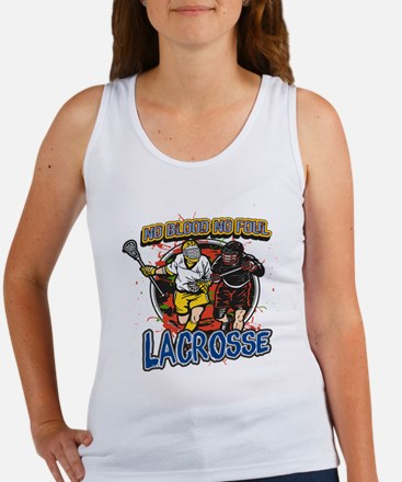No Blood, No Foul Lacrosse Women's Tank Top