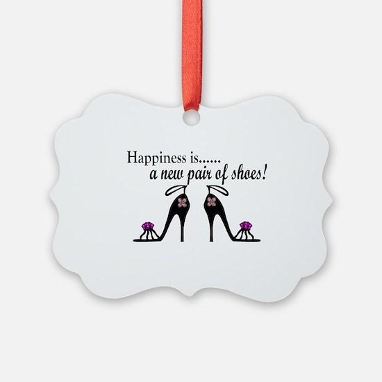 Cute High heel Ornament
