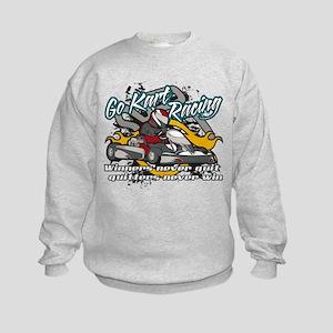 Go Kart Winner Kids Sweatshirt