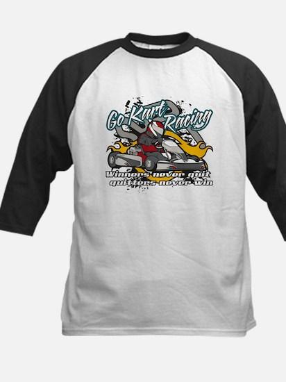 Go Kart Winner Kids Baseball Jersey