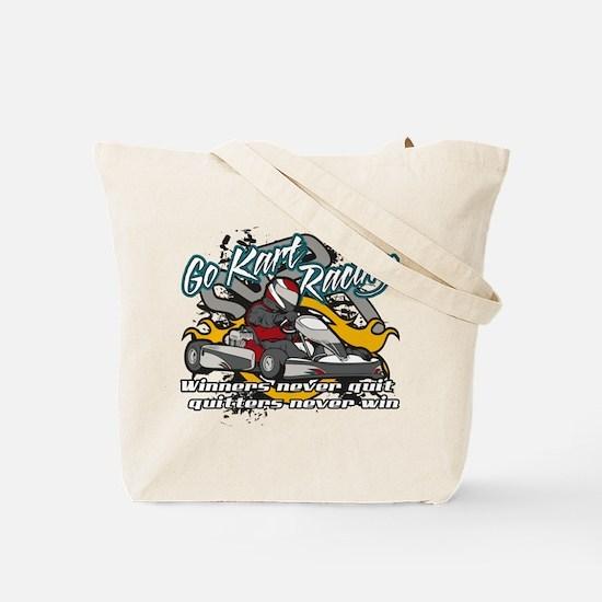 Go Kart Winner Tote Bag