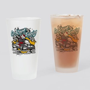 Go Kart Winner Drinking Glass