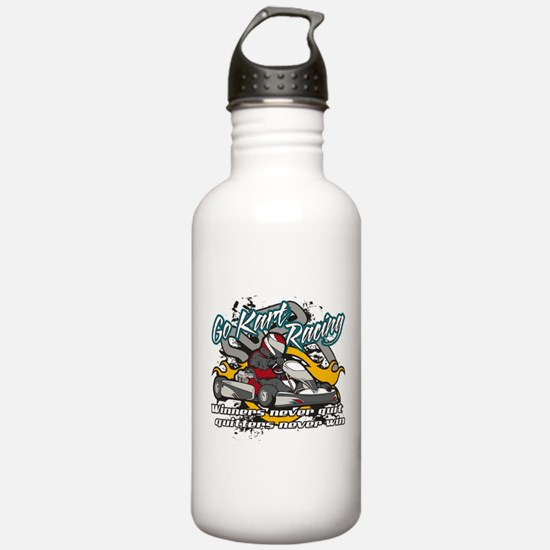 Go Kart Winner Water Bottle